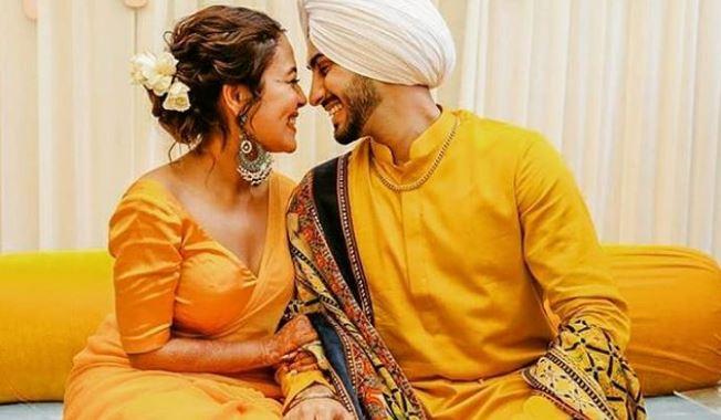 Congrats!!! Inside Neha Kakkar And Rohanpreet Singh's Haldi Ceremony-SurgeZirc India