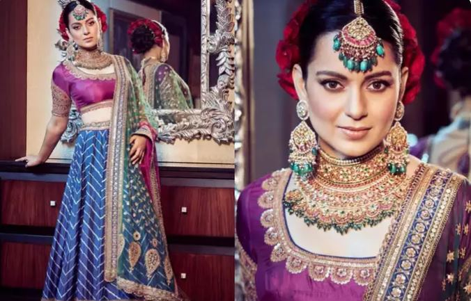 Kangana Ranaut Dazzles At Her Brother's Wedding In A Lehenga That Took 14 Months To Make-SurgeZirc India