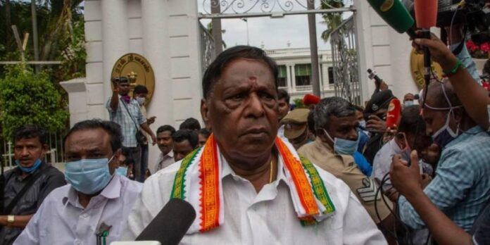 Fall Of Congress Govt. Another Chapter In Puducherry's History Of Ruling Collapsing - SurgeZirc India