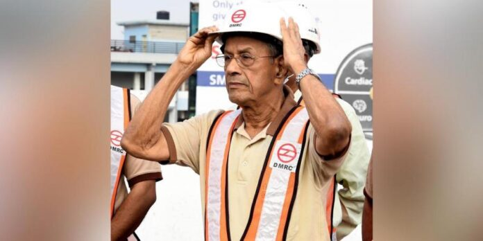 BJP Names E Sreedharan As Its Chief Ministerial Candidate For Kerala Assembly Election - SurgeZirc India