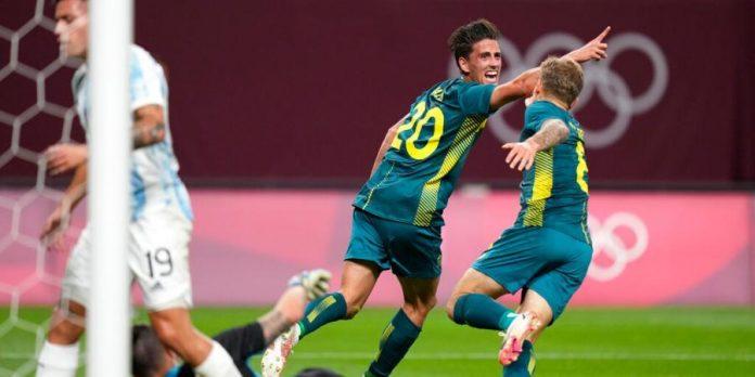 Australia Beats Argentina 2-0 In Tokyo Olympics Men's Soccer
